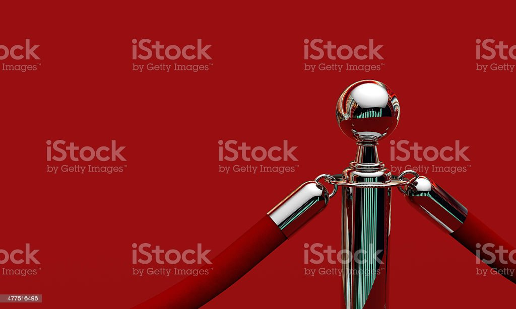 VIP red carpet stock photo