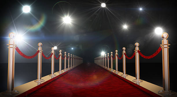 red carpet - fame stock photos and pictures