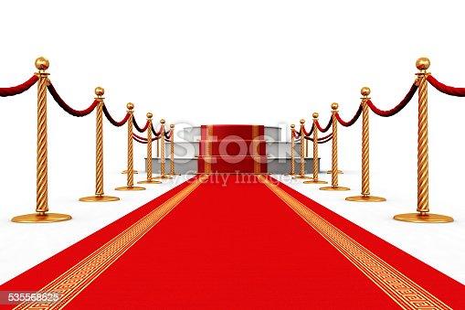 istock Red carpet 535568525