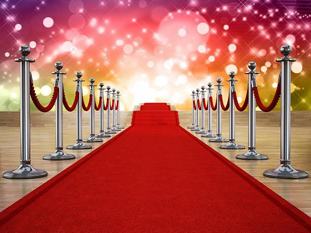 tapete vermelho palco - eventos de gala - fotografias e filmes do acervo