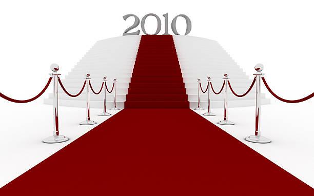 tappeto rosso-scale per il 2010 - 2010 foto e immagini stock