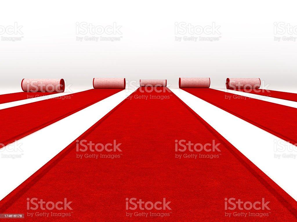 Rote Teppiche Rollen – Foto