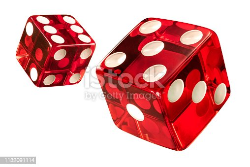 High resolution of clean new dices