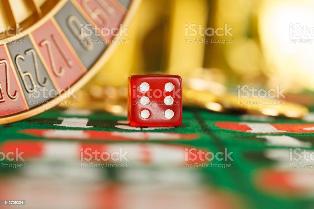 Rote casino Würfel – Foto