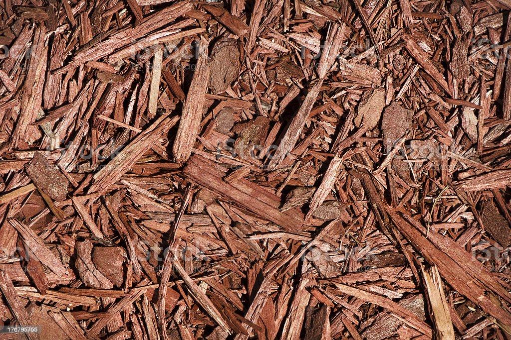 Red Cedar Mulch stock photo