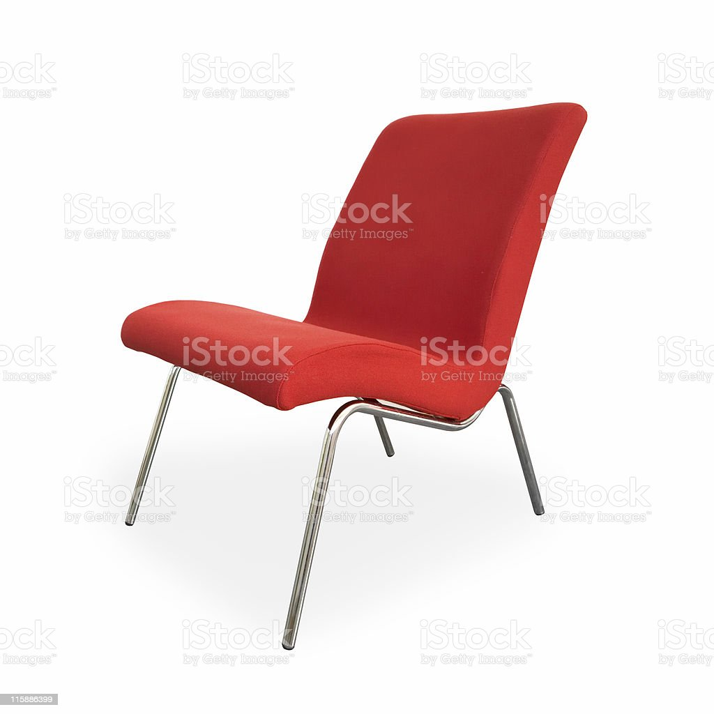 Red chair 2 royalty-free stock photo