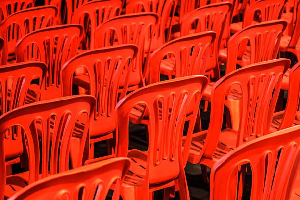 Roten Stühle – Foto