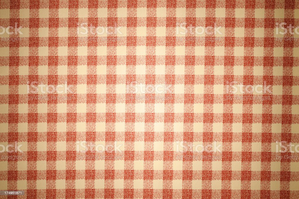 red checked royalty-free stock photo
