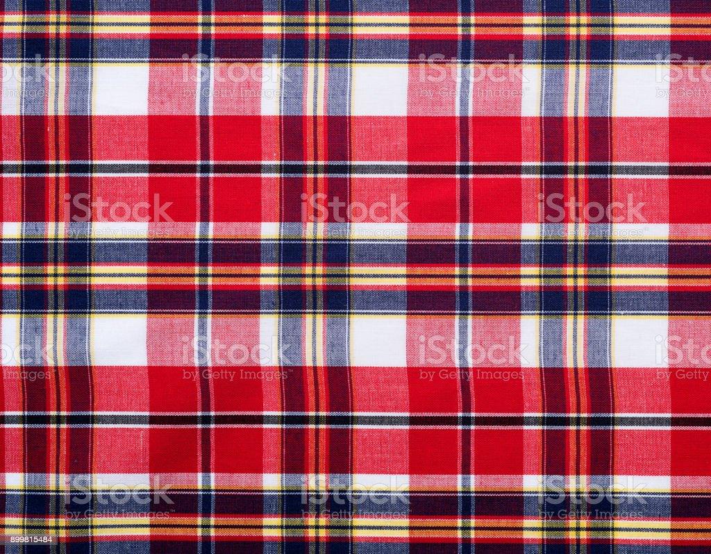 68745d544c Foto de Textura De Fundo De Tecido Xadrez Vermelho e mais fotos de ...