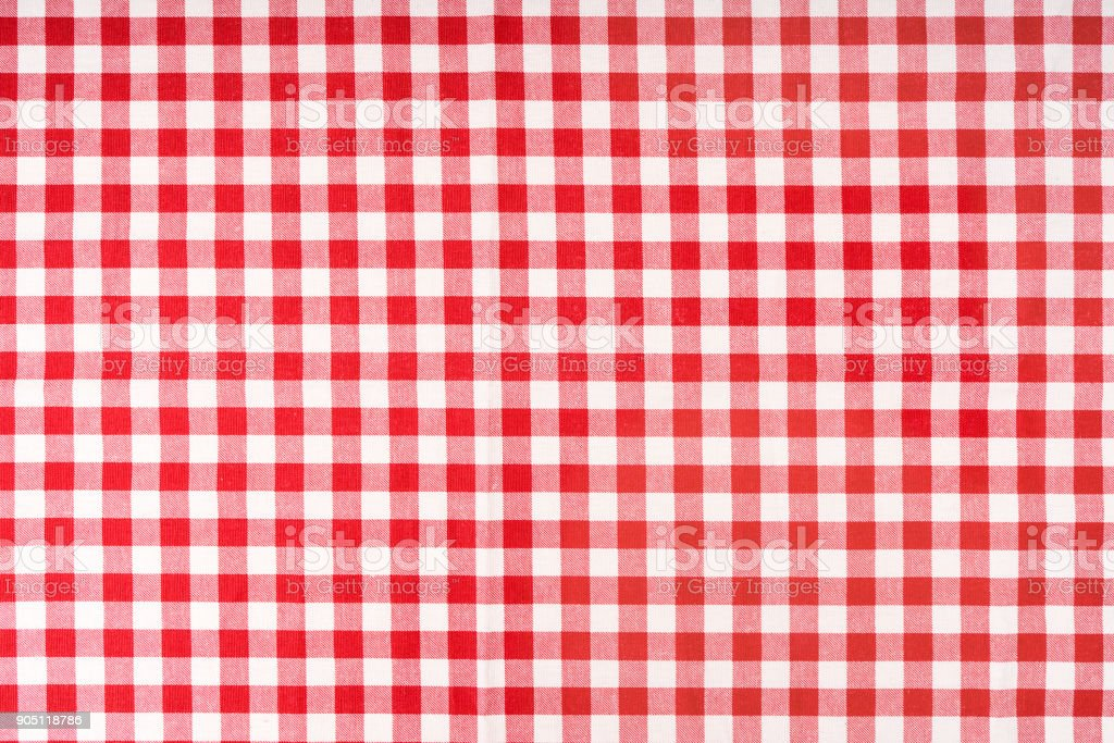 Red Checkered Tablecloth Stock Photo Download Image Now Istock