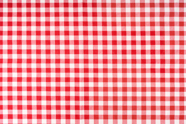 Red checkered tablecloth photo shot of checkered tablecloth plaid stock pictures, royalty-free photos & images