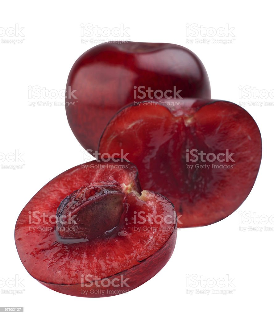 Red cherry royalty-free stock photo