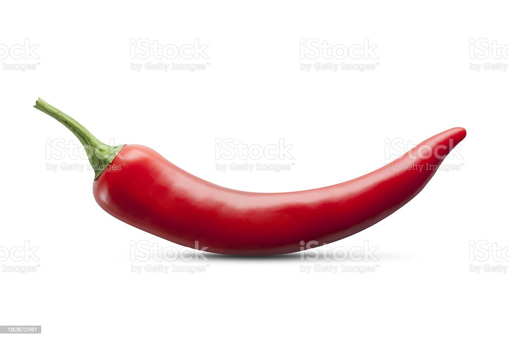 Red chili pepper stock photo