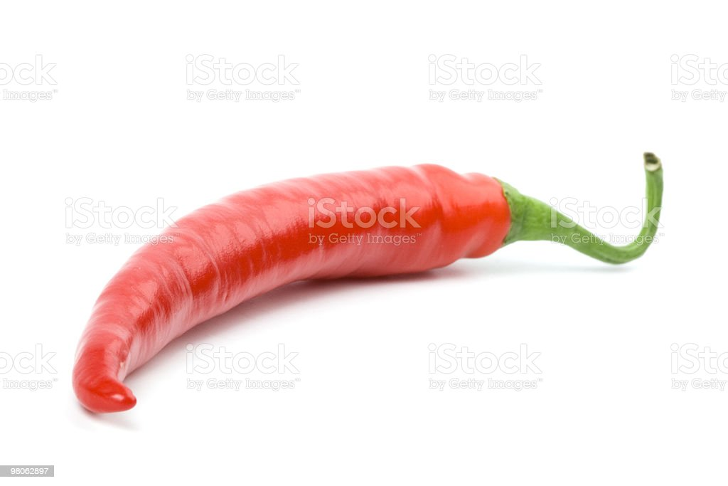 Peperoncino rosso foto stock royalty-free