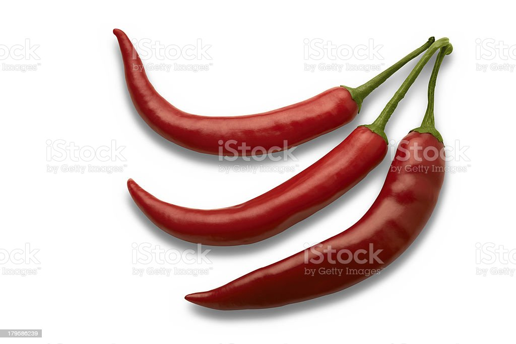 red chili peppers royalty-free stock photo