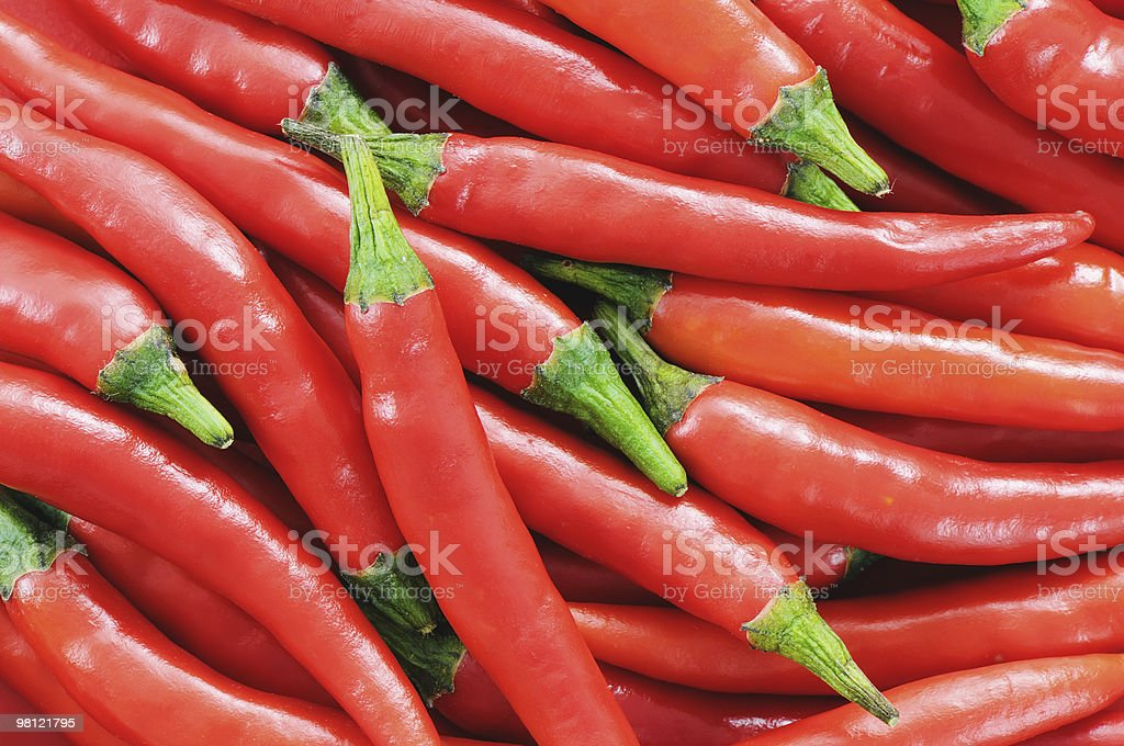 Red Chilli Pepper Background royalty-free stock photo