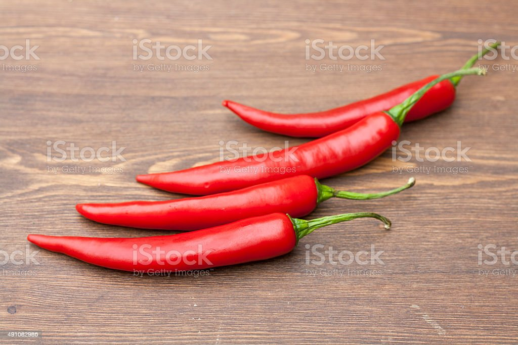Red chilli pepper royalty-free stock photo