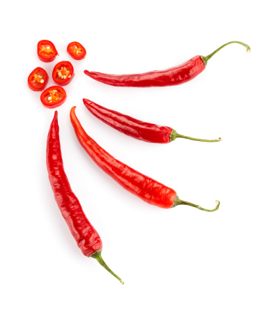 Red Chilli Peppers Stock Photo - Download Image Now