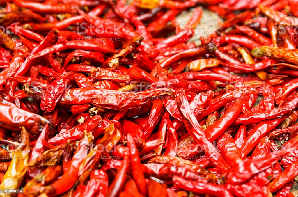 Rosso peperoncino peperoni  foto stock royalty-free