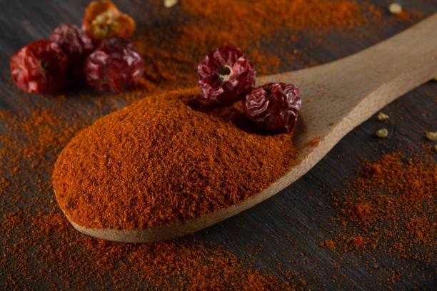 Red Chilli Powder stock photo