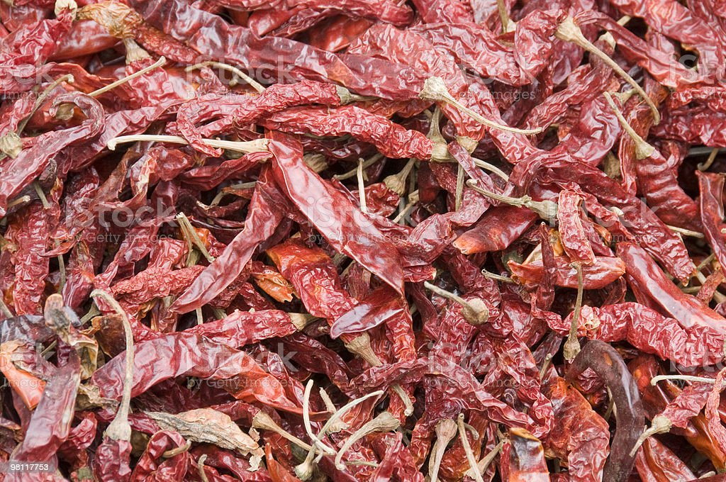 Red Chillies royalty-free stock photo