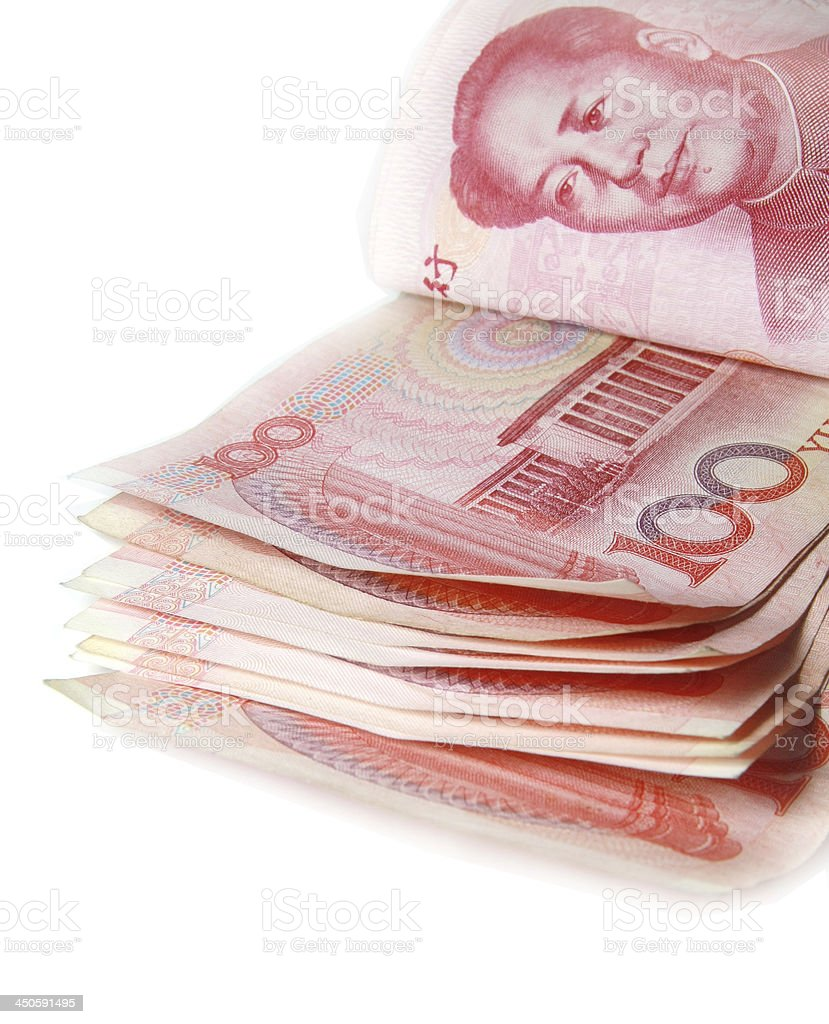 red china money banknote royalty-free stock photo