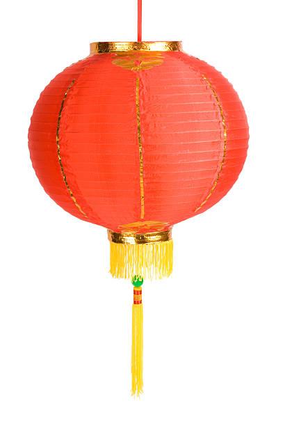 red chinese lantern - rislampa bildbanksfoton och bilder