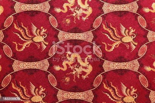532522827 istock photo Red Chinese Pattern 183358809
