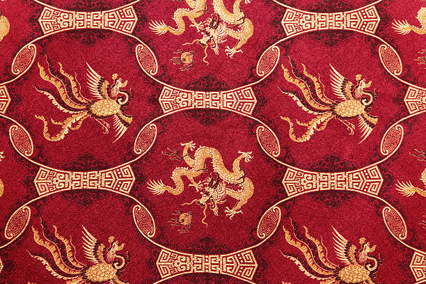 Red Chinese Pattern
