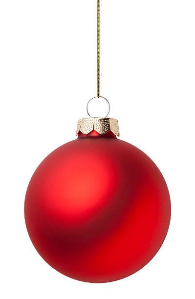 red christmas ball - bombka zdjęcia i obrazy z banku zdjęć