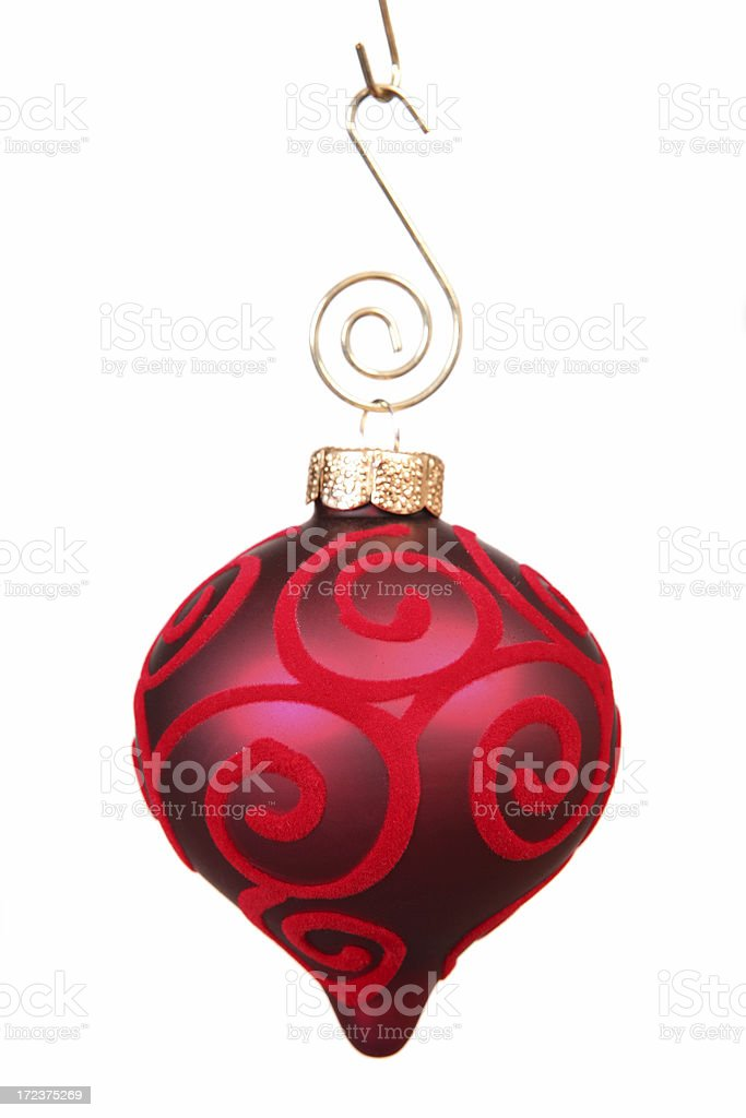 Red Christmas Bulb royalty-free stock photo