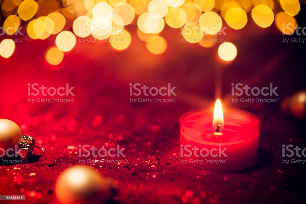 red christmas candle light bokeh defocused decoration gold royalty free stock photo - Candle Christmas Lights