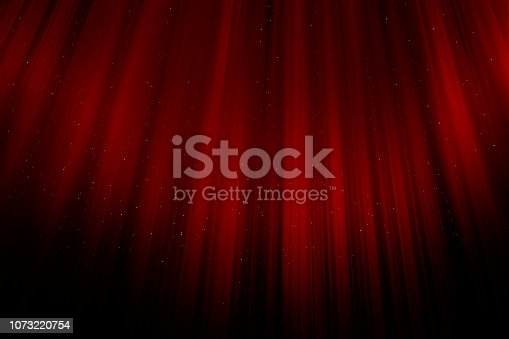 Glamour elegant red curtains background