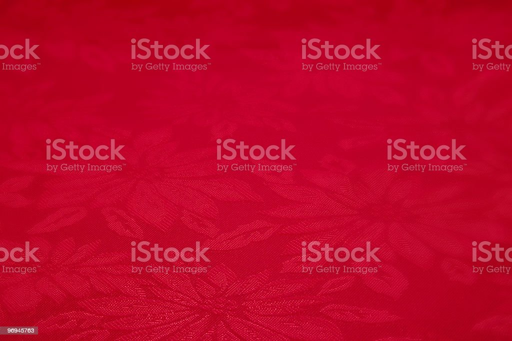 Red Christmas Floral Pattern XL royalty-free stock photo