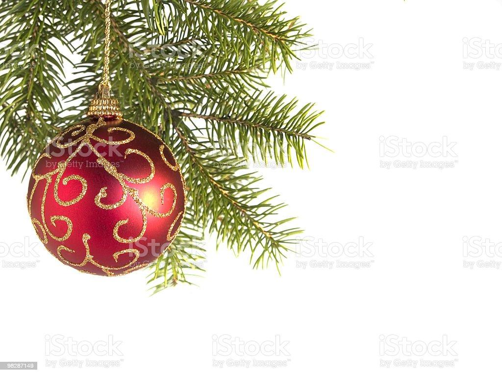 Decorazione di Natale Rosso foto stock royalty-free