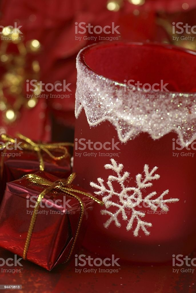 Red christmas royalty-free stock photo