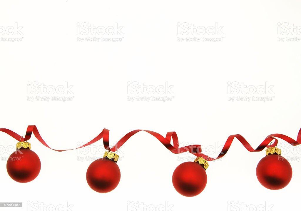 Rouge de Noël photo libre de droits