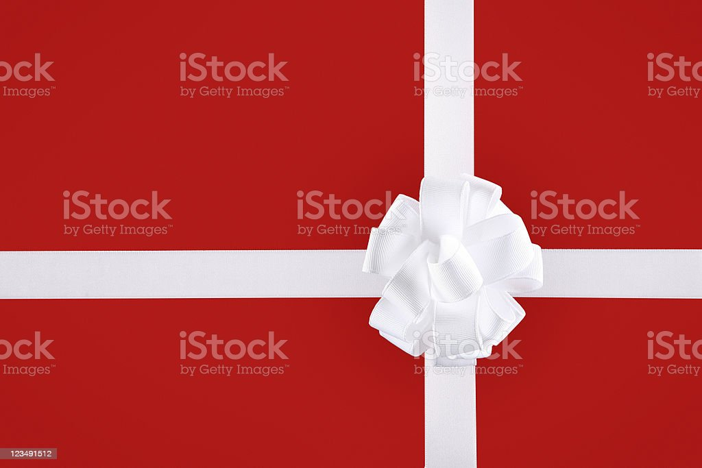 Red Christmas Present royalty-free stock photo