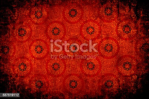 istock Red Circular Abtract Background 537519112