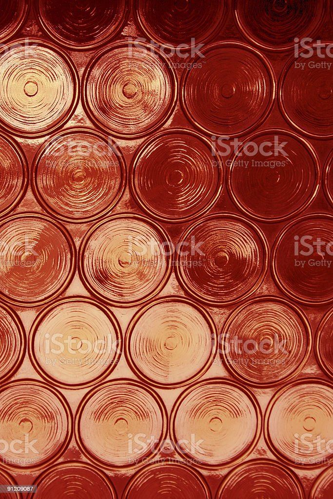 Red Circular Glass royalty-free stock photo