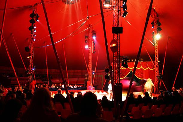 red circus! - circus zdjęcia i obrazy z banku zdjęć