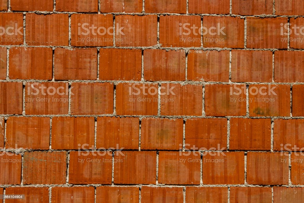 Red clay brick wall.It can be used for background royalty-free stock photo