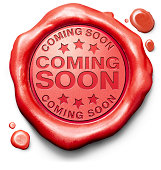 istock Red clay with imprint coming soon  173539613