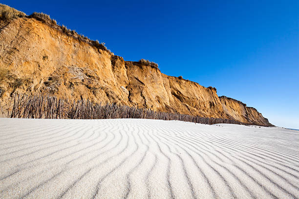 red cliff (red kliff/sylt - sylt urlaub stock-fotos und bilder