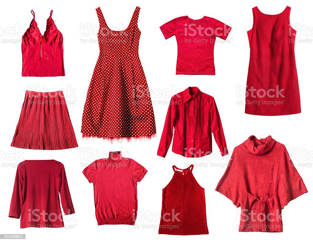 Rote Kleidung – Foto