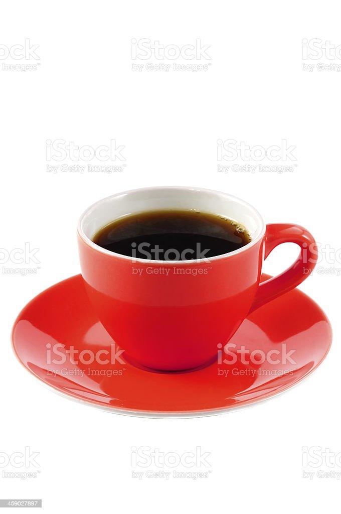 Rote Kaffeetasse – Foto