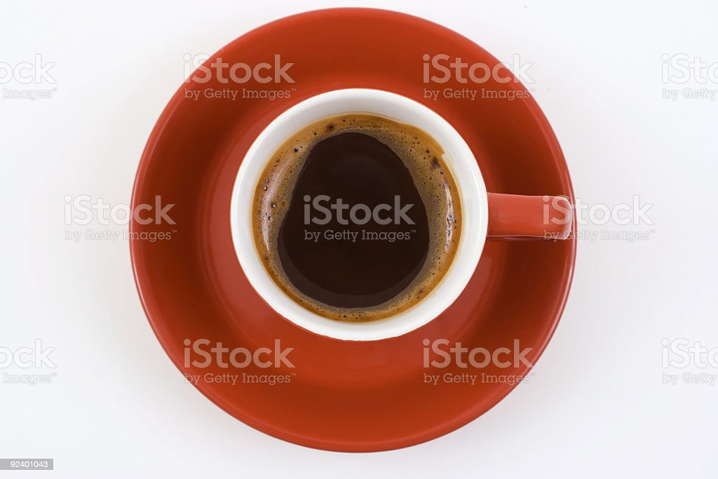 red coffee royalty-free stock photo