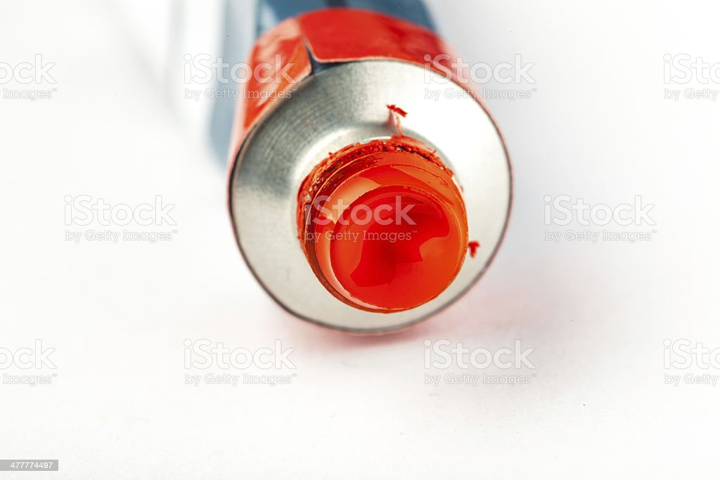 red color dye royalty-free stock photo