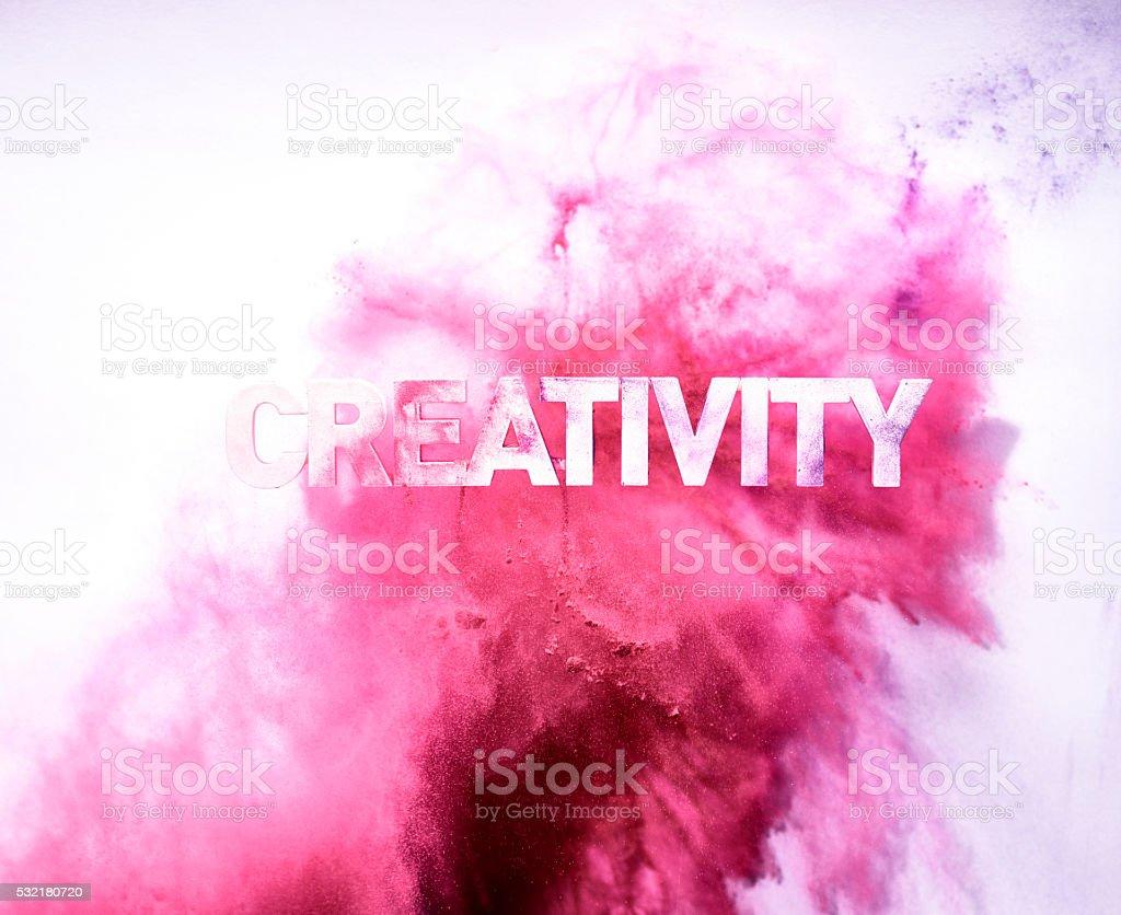 Blastocitos de color rojo creatividad - foto de stock