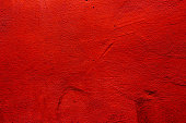 Red colored wall texture background with textures of different red shades